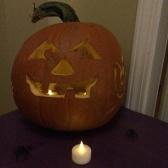 Doin' up the pumpkins!